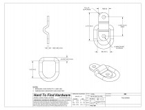 horse trailer accessories replacement hardware parts htf hardware Snowmobile Trailers tie down